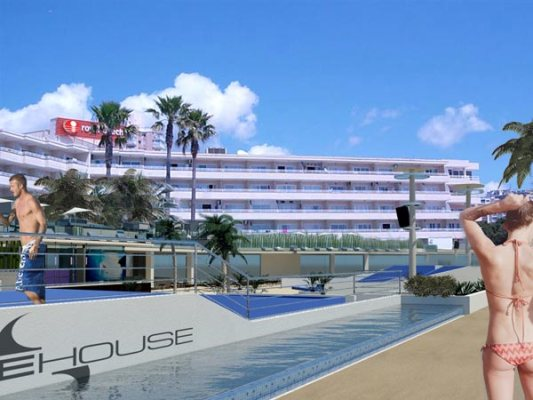 "Meliá Hotels presenta el futuro ""Sol Calvià Resort"" en Magalluf 2"
