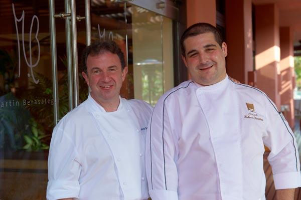 Por tercer año consecutivo el restaurant M.B, de Martín Berasategui en Tenerife, renueva su estrella Michelin