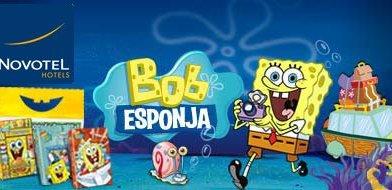 Novotel lanza una promoción especial de Navidad  para que los niños disfruten de Bob Esponja