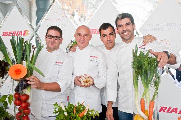 Menús de Toño Perez  en Business Plus de Iberia