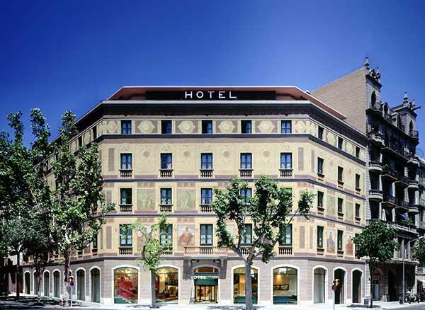 Hotel Catalonia Eixample 1964