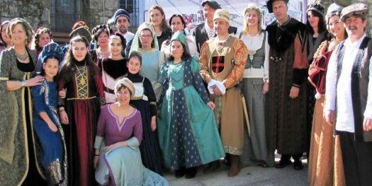 la arribada de baiona es una de las fiestas de galicia mas conocidas