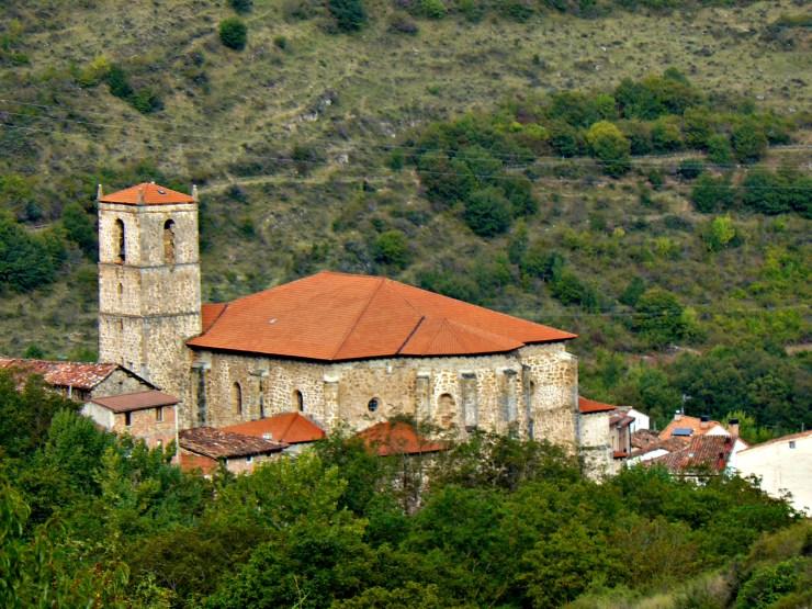 iglesia de san andrés en anguiano