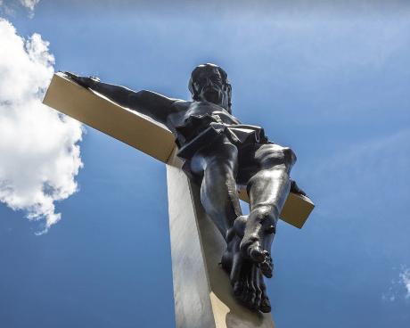 crucifijo mas grande del mundo