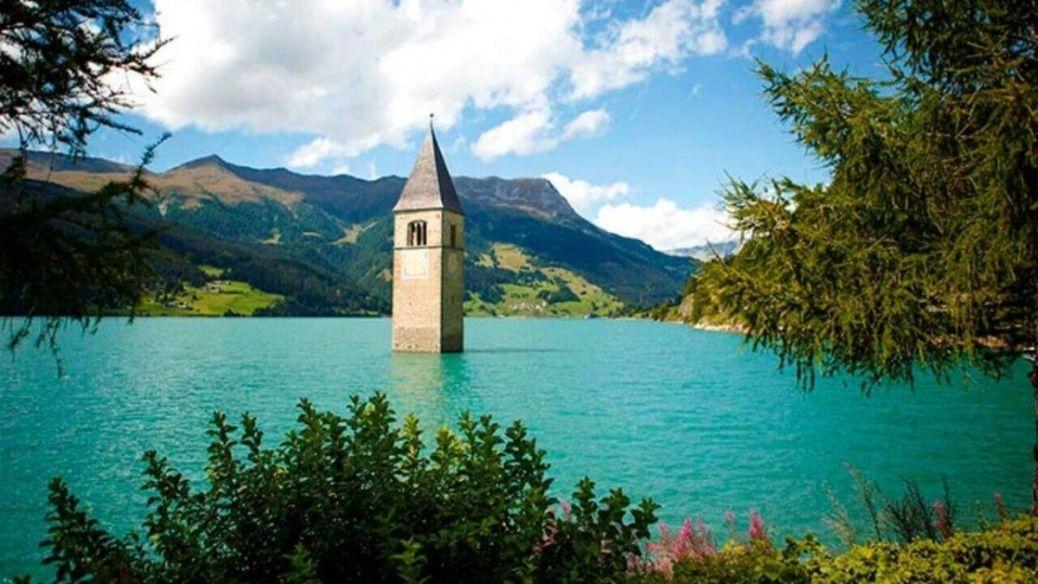 iglesias sumergidas de europa turismo religioso