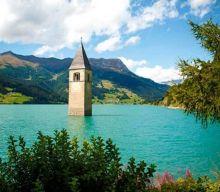 Las iglesias sumergidas en Europa