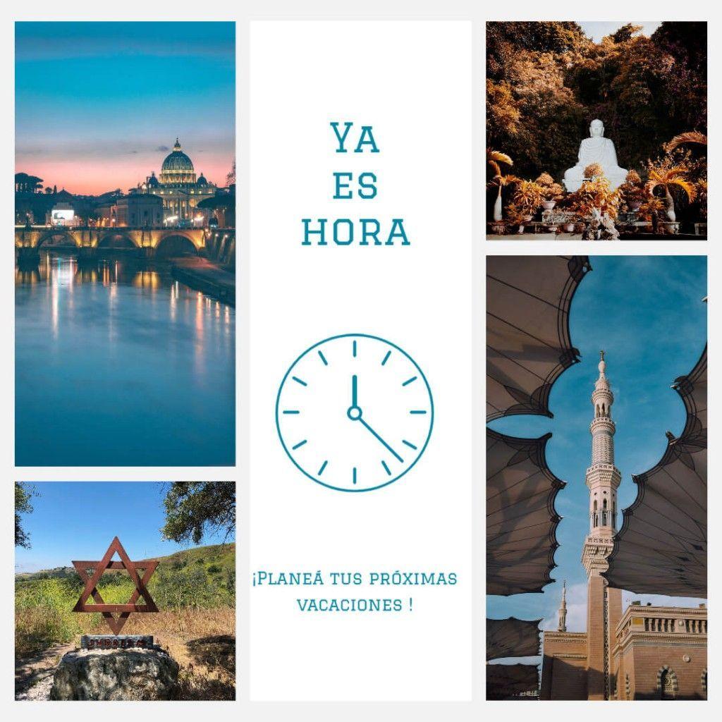 es hora de viajar turismo religioso