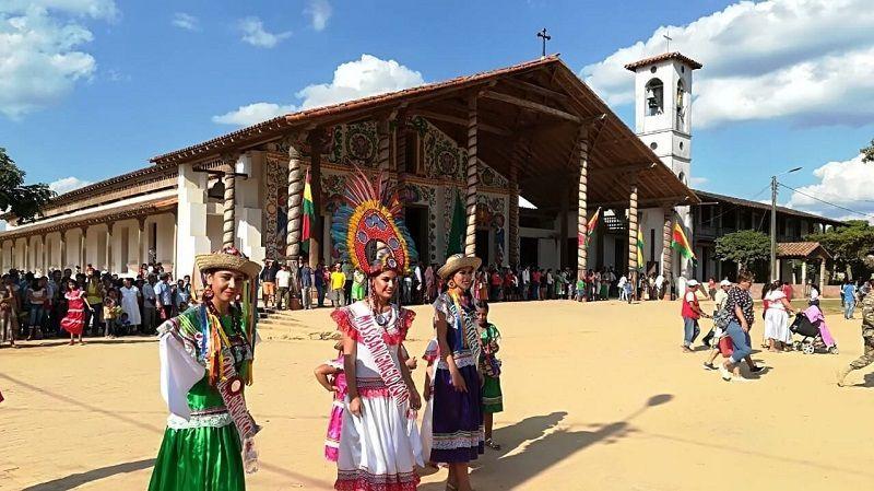 Fiesta en San Ignacio de Moxos