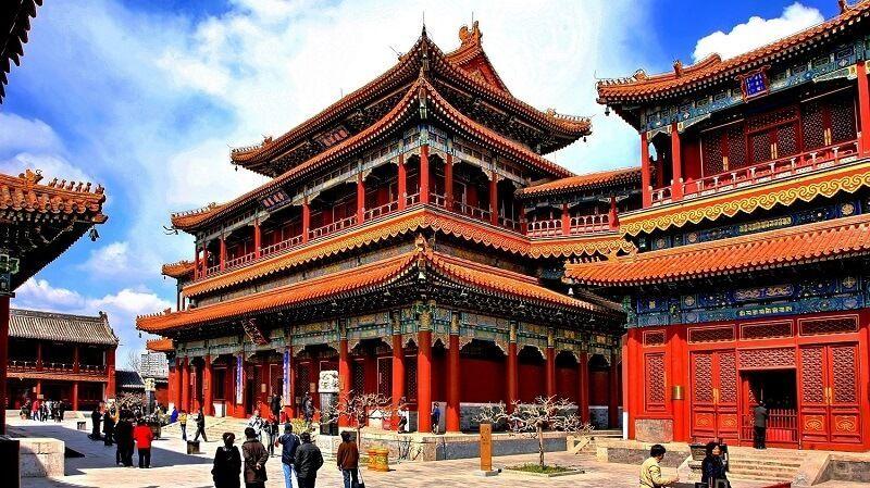 Templo de Beijing Lama turismo religioso