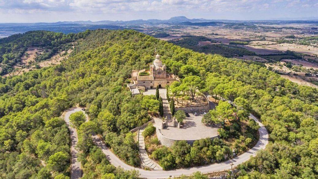 Los Santuarios Marianos en las Islas Baleares