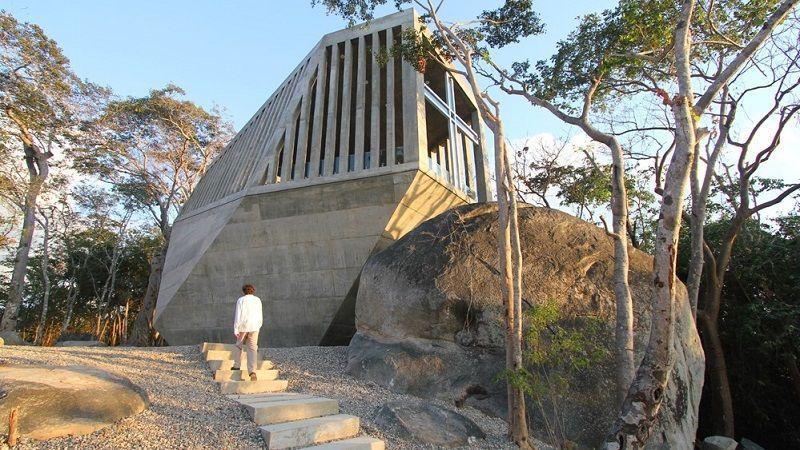 Capilla de la Puesta del Sol arquitectura vanguardista