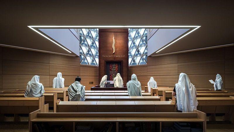 Sinagoga de Ulm arquitectura vanguardista
