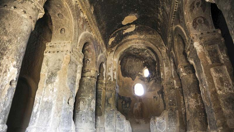 ruinas de la catedral de selime