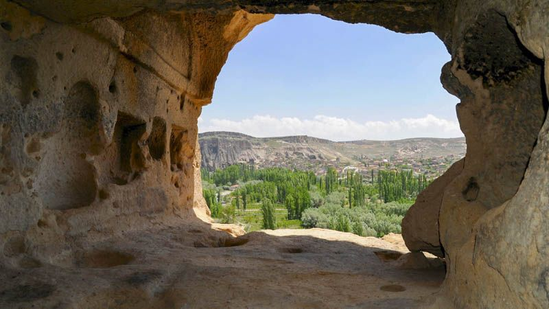 valle de Ihlara Turismo Religioso en Capadocia