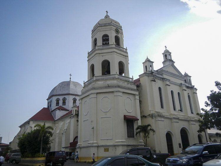 catedral de batangas imagen de la virgen maria