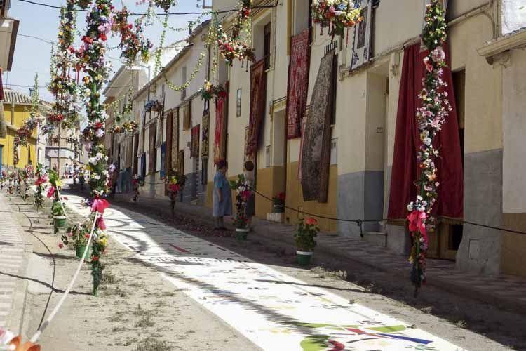 callezuelas del pueblo de Camuñas