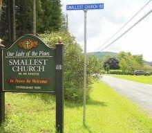 Las iglesias más pequeñas de los Estados Unidos