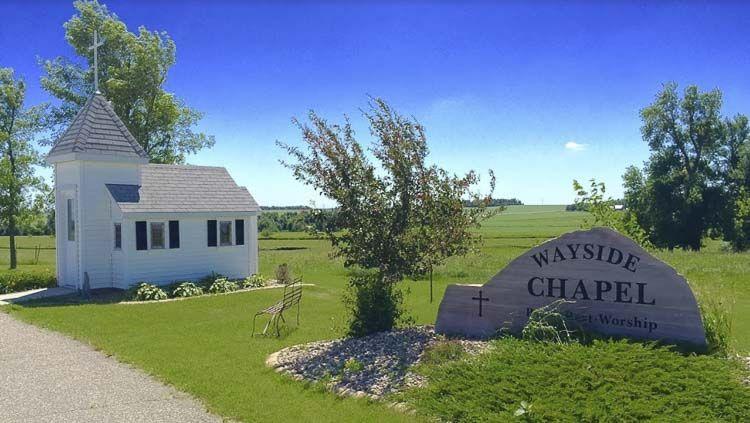 Blue Mound Wayside Chapel - Las iglesias más pequeñas de los Estados Unidos