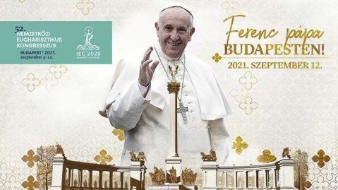 Budapest acogerá al Papa Francisco, quien presidirá los momentos culminantes del Congreso Eucarístico Internacional, asamblea de la Iglesia católica que se reúne para manifestar el amor a Cristo en la Eucaristía y dar testimonio al mundo del amor infinito de Dios a los hombres y mujeres.