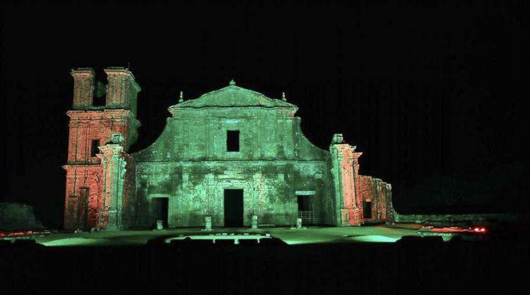 Camino de las Misiones en Brasil - São Miguel das Missões. Esta reducción destaca por tener el mayor número de estructuras y en el mejor estado de conservación. Por lo que, en 1983, fue declarado Patrimonio de la Humanidad por la UNESCO.