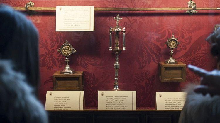 Reliquias en el Museo Santa Teresa de Jesús – Crédito: Pedro Luis Calvo