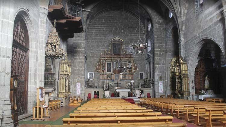 Interior de la Iglesia de San Juan Bautista – Santa Teresa de Jesús – Crédito: Nicolas Ayesta