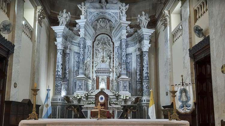 Retablo Mayor de la Catedral de Rosario – Crédito: Legna Morillo
