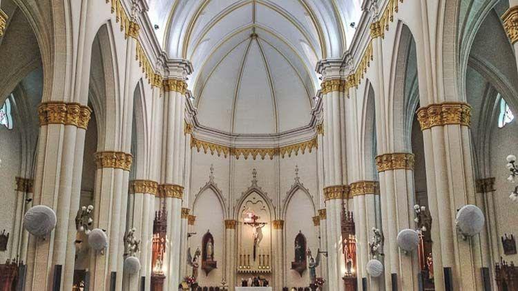 Vista interior del Santuario de San Cayetano  – Crédito: Sergio Gabriel Cruz
