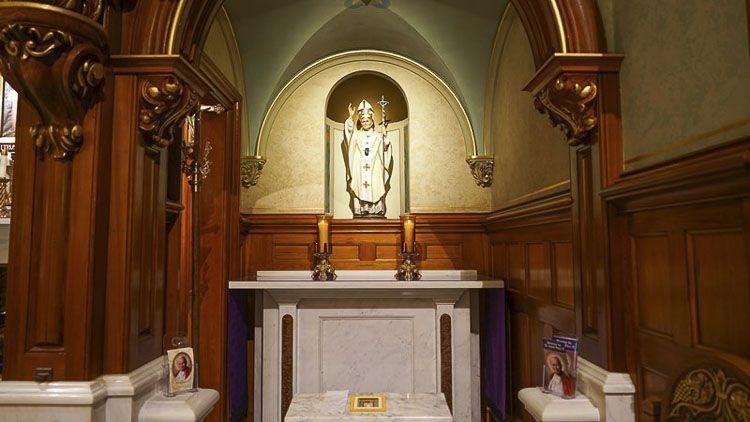 Capilla de San Juan Pablo II santuario nacional de la divina misericordia