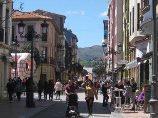 Ribadesella. Plaza Ayuntamiento