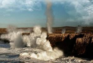 Cantabric sea's cliffs. Ribadesella