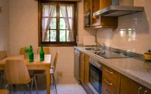 Cocina Casa Rural en Ribadesella