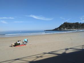Relax, en La Playa de Ribadesella