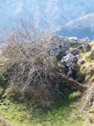 Parapetos en la Sierra de Benzúa