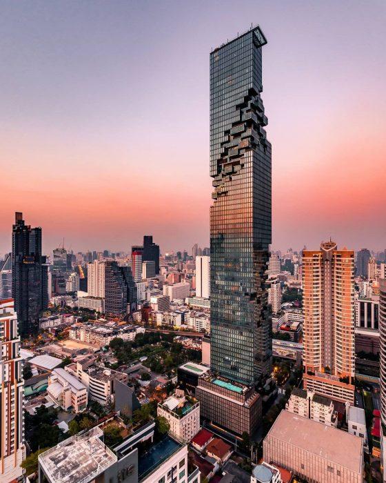 Rincones de Bangkok: King Power Mahanakhon Skywalk