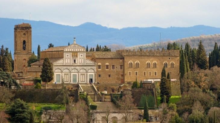Iglesia de San Miniato al Monte   Florencia   Italia