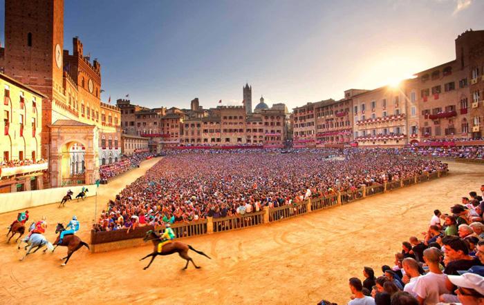 Fiesta del Palio de Siena   Toscana   Fechas e información