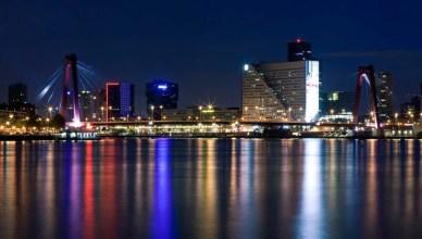Amsterdã para Roterdã