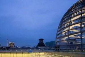 Visitando o Reichstag em Berlim
