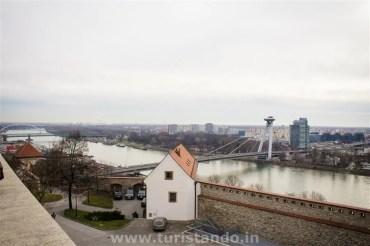 %name Visitando o castelo de Bratislava