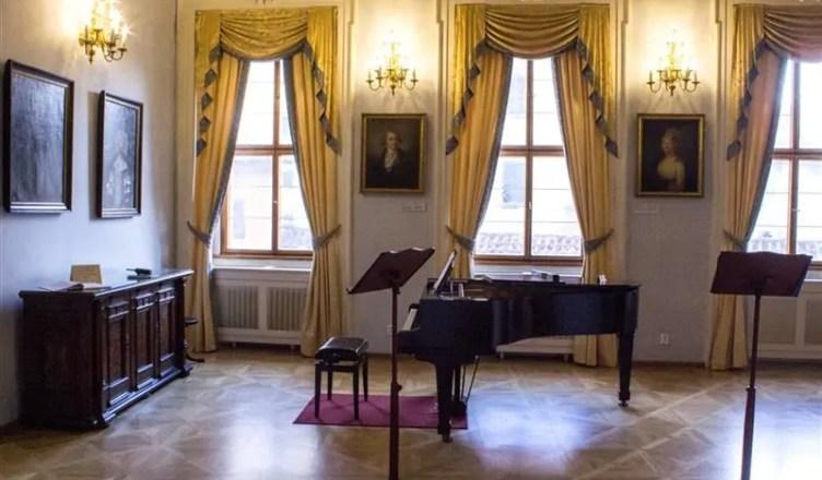 Palácio Lobkowiczdentro do castelo de Praga