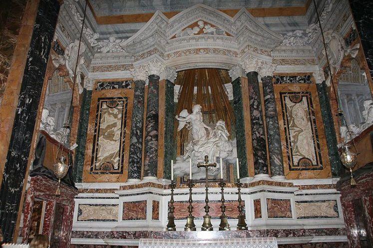 Roma Santa Maria della Vittoria 8on8   Arte gratuita na Itália: as 8 esculturas imperdíveis dos grandes gênios italianos