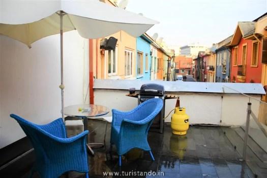 Casa Roble Hostal 030  525x350 Onde se hospedar no Chile com Crianças (Santiago, Valpo e Viña )