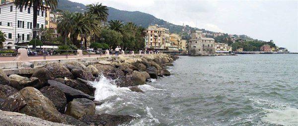 Rapallo 24mag08 3 600x254 Road Trip pelo litoral italiano: De Gênova à Cinque Terre
