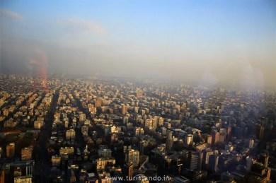%name SKY Costanera em Santiago: Os Andes vistos do alto!