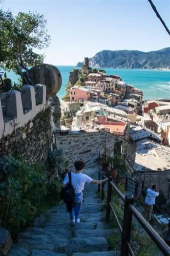 %name As trilhas em Cinque Terre