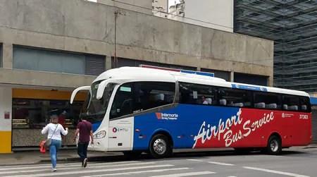 ônibus Republica para o aeroporto de Guarulhos As linhas de ônibus e para o Aeroporto de Guarulhos   GRU (do barato ao confortável)