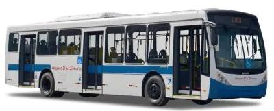 Bus Service linha 257 da EMTU ônibus barato do Tatuapé para o aeroporto de Guarulhos e1518089442972 400x162 As linhas de ônibus e para o Aeroporto de Guarulhos   GRU (do barato ao confortável)