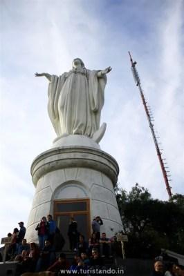 Turistando.in Chile Cerro San Cristobal Santiago 09 julho 2017 16h42 057 266x400 Super guia Chile: O que fazer de graça em Santiago