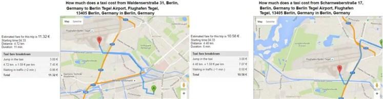 taxi Estadia no Amstel House Berlim